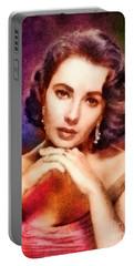 Elizabeth Taylor, Vintage Hollywood Legend Portable Battery Charger