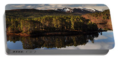 Portable Battery Charger featuring the photograph Glen Affric by Gavin Macrae