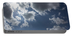 Portable Battery Charger featuring the photograph 6-gon Boken Sky by Megan Dirsa-DuBois