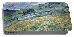 Landscape From Saint-remy Portable Battery Charger