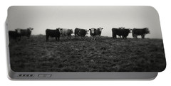 Livestock Portable Battery Charger by Les Cunliffe
