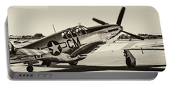 P51 Mustang Portable Battery Charger by Chris Smith