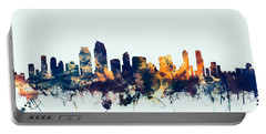 San Diego California Skyline Portable Battery Charger