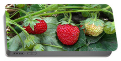 Strawberry Portable Battery Charger
