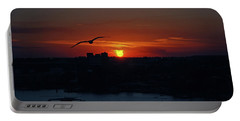 Portable Battery Charger featuring the photograph 6- Sunset by Joseph Keane