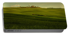 Val D'orcia Landscape Portable Battery Charger