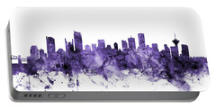 Vancouver Canada Skyline Portable Battery Charger