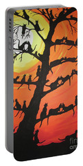 60 Cats In The Love Tree Portable Battery Charger by Jeffrey Koss
