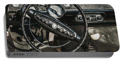 Portable Battery Charger featuring the photograph 68 Ford Mustang by Trey Foerster