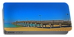 6x1 Venice Florida Beach Pier Portable Battery Charger