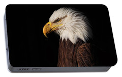 Portable Battery Charger featuring the photograph Bald Eagle  by Brian Cross
