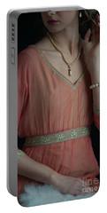 Edwardian Woman  Portable Battery Charger