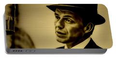 Frank Sinatra Art Portable Battery Charger