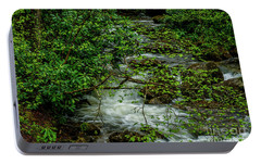 Portable Battery Charger featuring the photograph Kens Creek Cranberry Wilderness by Thomas R Fletcher