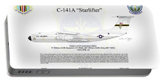 Lockheed C-141a Starlifter Portable Battery Charger by Arthur Eggers