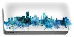 Miami Florida Skyline Portable Battery Charger