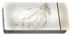 Mourning Dove, Animal Portrait Portable Battery Charger