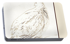 Portable Battery Charger featuring the photograph Mourning Dove, Animal Portrait by A Gurmankin