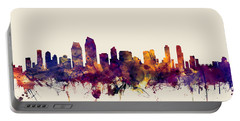 San Diego California Skyline Portable Battery Charger