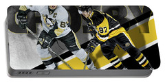 Sidney Crosby Portable Battery Charger by Don Olea