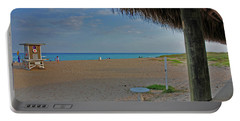 Portable Battery Charger featuring the photograph 7- Southern Beach by Joseph Keane