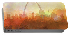 St Louis Missouri Skyline Portable Battery Charger
