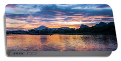 Sunrise Scenery In The Morning Portable Battery Charger