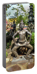 Thai Yoga Statue At Famous Wat Pho Temple Portable Battery Charger
