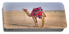 Thar Desert - India Portable Battery Charger by Joana Kruse