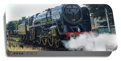 70013 Oliver Cromwell At Loughborough Portable Battery Charger