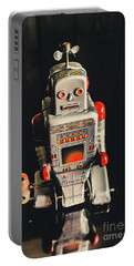 70s Mechanical Android Bot  Portable Battery Charger