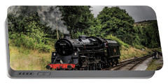 75078 Steam Locomotive Portable Battery Charger by David  Hollingworth