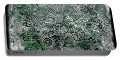 7a Abstract Floral Expressionism Digital Art Portable Battery Charger