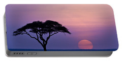 African Sunrise Portable Battery Charger