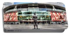Arsenal Fc Emirates Stadium London Portable Battery Charger