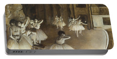 Ballet Rehearsal On Stage Portable Battery Charger