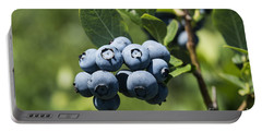 Blueberry Bush Portable Battery Charger