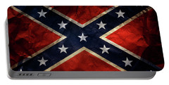 Confederate Flag 9 Portable Battery Charger