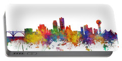 Knoxville Tennessee Skyline Portable Battery Charger