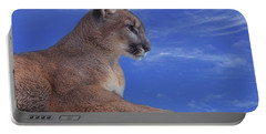 Mountain Lion  Portable Battery Charger