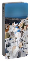 Oia, Santorini - Greece Portable Battery Charger