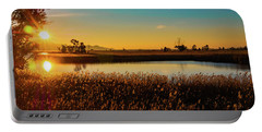 Sunrise In The Ditch Burlamacca Portable Battery Charger