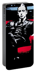 The Godfather Portable Battery Charger by Luis Ludzska