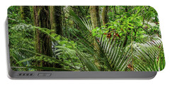 Portable Battery Charger featuring the photograph Tropical Jungle by Les Cunliffe