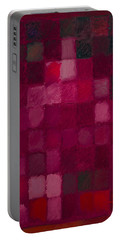 81 Color Fields - Madder Lake Portable Battery Charger