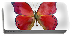 83 Red Glider Butterfly Portable Battery Charger