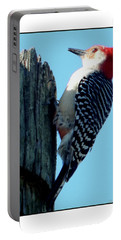 #8671 Woodpecker Portable Battery Charger