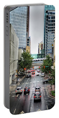 Charlotte North Carolina Views Around  Downtown Portable Battery Charger