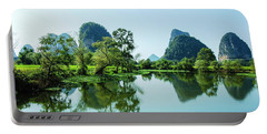 Karst Rural Scenery Portable Battery Charger