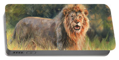 Lion Portable Battery Charger by David Stribbling